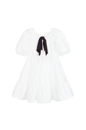 GIRL WHITE DRESS IL GUFO JUNIOR IL GUFO | 11 | P19VM494C00460149