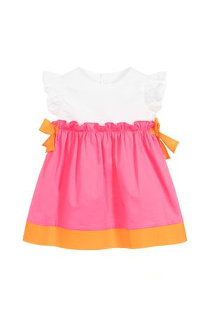 GIRL DRESS WITH ROUCHES GUFO JUNIOR. IL GUFO | 11 | P19VM526C00463601