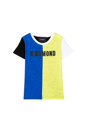 BLUE AND YELLOW T-SHIRT JOHN RICHMOND KIDS JOHN RICHMOND KIDS | 8 | RBP19152TSCHBLKWHOP