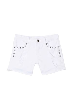 WHITE BERMUDA JOHN RICHMOND KIDS TEEN  JOHN RICHMOND KIDS | 30 | RGP19139SHCHWHITE