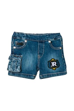 NEWBORN BERMUDA IN DENIM JOHN RICHMOND KIDS  JOHN RICHMOND KIDS | 5 | RIP19032BEPTJBLUEMED