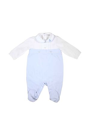 WHITE AND BLUE BABY SUIT LE BEBÈ  Le bebè | 1491434083 | LBB1673BC