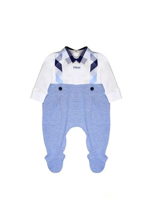 SUIT FOR NEWBORN BABIES LE BEBÈ JUNIOR Le bebè | 1491434083 | LBB1704AZZURRO