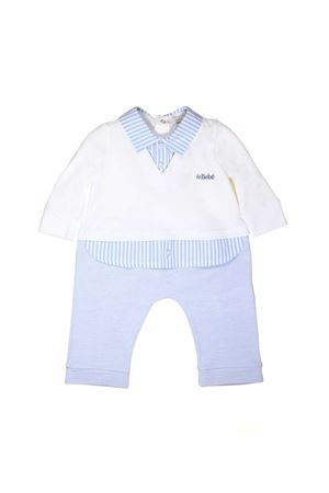 NEWBORN SUIT WHITE AND BLUE BY LE BEBÈ JUNIOR Le bebè | 1491434083 | LBB1714BC