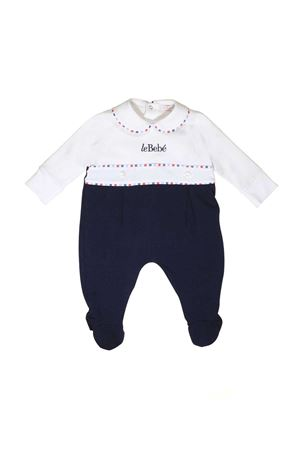 NEWBORN SUIT LE BEBÈ JUNIOR WHITE AND BLUE Le bebè | 1491434083 | LBB1767UNICO