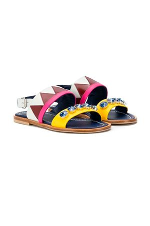 MULTICOLORED SANDALS GUCCI KIDS TEEN  MARNI KIDS | 12 | 58807T1