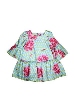 ROSE PRINT DRESS MI.MI.SOL GIRL MI.MI.SOL | 11 | EMF005ST0700T807