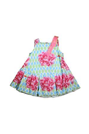 DRESS WITH ROSE PRINT MI.MI.SOL. LITTLE GIRL  MI.MI.SOL | 11 | EMF007ST1000T807