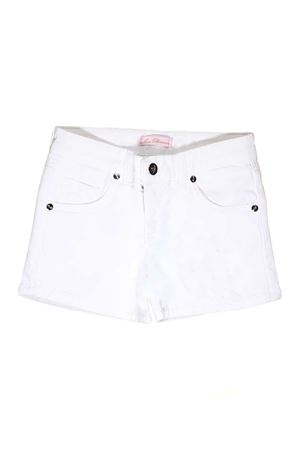 WHITE MISS BLUMARINE JUNIOR SHORTS Miss Blumarine | 30 | MBL0821SETA