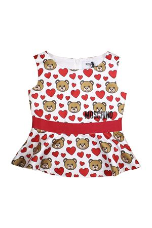 BLOUSE SLEEVELESS MOSCHINO KIDS FOR GIRL MOSCHINO KIDS | 194462352 | HDC012LRB0184007