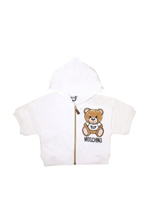WHITE KIDS MOSCHINO SWEATSHIRT FOR BOY MOSCHINO KIDS | -108764232 | HDF020LDA0010063