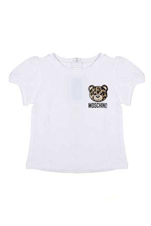 T-SHIRT FOR BOY WITH BEAR MOSCHINO KIDS MOSCHINO KIDS | 8 | MDM02BLBA1010063