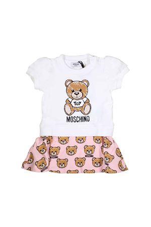 WHITE DRESS MOSCHINO KIDS FOR GIRL MOSCHINO KIDS | 11 | MDV06XLBA0084002
