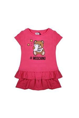 ABITO FUCSIA NEONATA MOSCHINO KIDS MOSCHINO KIDS | 11 | MDV06YLDA1350875
