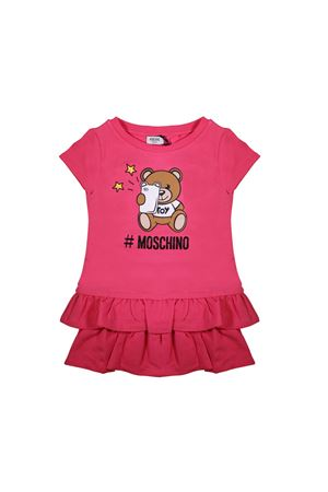 FUCSIA BABY DRESS MOSCHINO KIDS  MOSCHINO KIDS | 11 | MDV06YLDA1350875