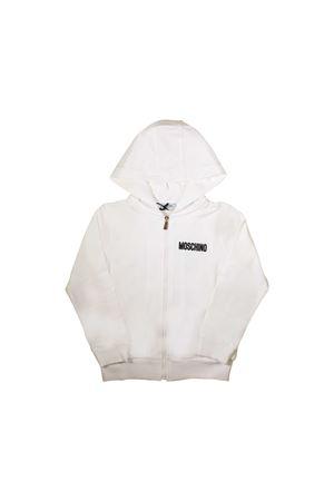 WHITE MOSCHINO KIDS SWEATSHIRT FOR BABY  MOSCHINO KIDS | -108764232 | MPF00QLDA0010063