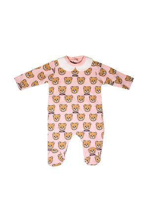 BABY PINK SUIT MOSCHINO KIDS  MOSCHINO KIDS | -1617276553 | MUY01XLAB0984002