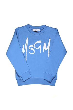 LIGHT BLUE SWEATER MSGM KIDS MSGM KIDS | -108764232 | 018614120