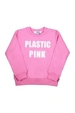FELPA ROSA PLASTIC PINK MSGM KIDS MSGM KIDS | -108764232 | 019030042