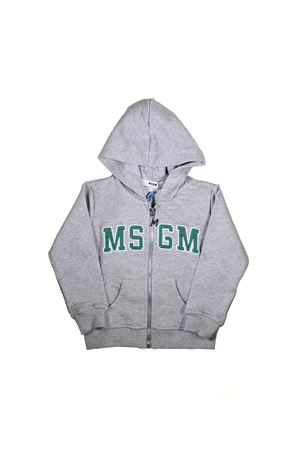 GRAY SWEATSHIRT MSGM KIDS  MSGM KIDS | -108764232 | 019033101