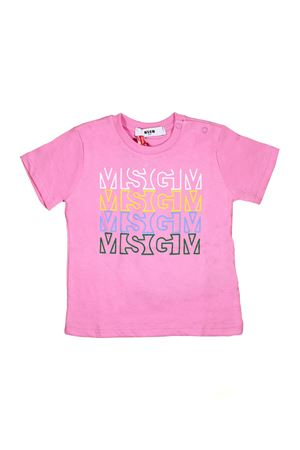 PINK T-SHIRT MSGM KIDS MSGM KIDS | 8 | 019042042
