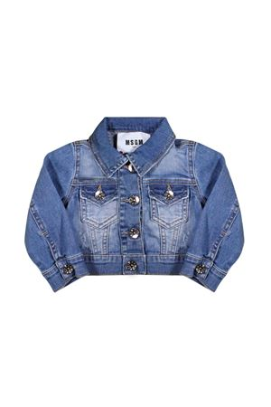 NEWBORN DENIM JACKET MSGM KIDS  MSGM KIDS | 3 | 019044126