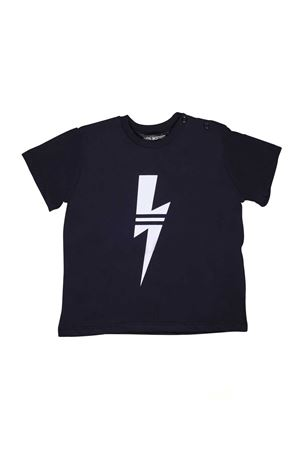 BLU T-SHIRT NEIL BARRETT KIDS  NEIL BARRETT KIDS | 8 | 018846160