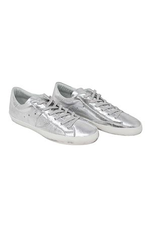 TOTAL SILVER SNEAKERS PHILIPPE MODEL KIDS TEEN PHILIPPE MODEL KIDS | 12 | CLL0TM01