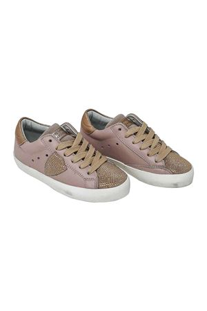 NUDE PINK SNEAKERS PHILIPPE MODEL KIDS TEEN PHILIPPE MODEL KIDS | 12 | CLL0TSD2