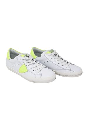 WHITE SNEAKERS PHILIPPE MODEL KIDS TEEN PHILIPPE MODEL KIDS | 12 | CLL0TVN2