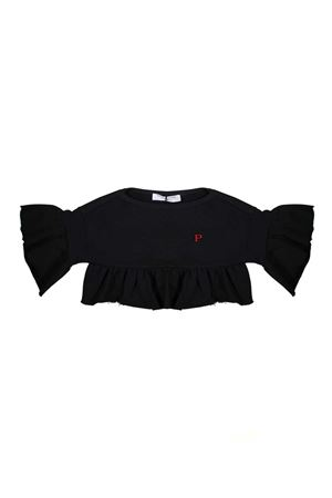 BLACK SWEATSHIRT GIRL PHILOSOPHY KIDS PHILOSOPHY KIDS | -108764232 | PJFE06FE144TH0120065