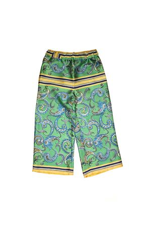 GIRL AQUAMARINE GREEN LARGE TROUSERS PHILOSOPHY KIDS PHILOSOPHY KIDS | 9 | PJPA09TV530TH0190079