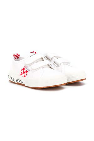 SAINT BARTH KIDS WHITE SNEAKERS SAINT BARTH | 12 | BOULEVARD01