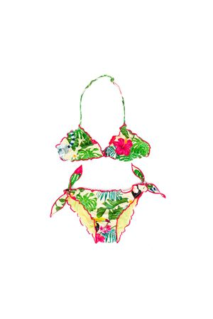 MULTI-COLORED GIRL SAINT BARTH KIDS BIKINI SAINT BARTH | 23 | CRISTBTFL91