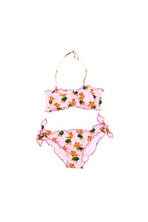 PINK SQUARE BIKINI SAINT BARTH KIDS  SAINT BARTH | 85 | EMYHWBE21