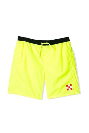 SAINT BARTH KIDS FLUO YELLOW BERMUDA  SAINT BARTH | 85 | JEANCHCK94