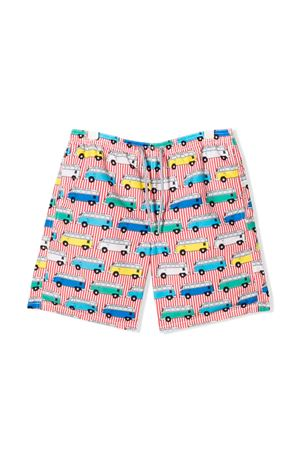 BERMUDA A RIGHE BAMBINO SAINT BARTH KIDS SAINT BARTH | 85 | JEANVNJRL4