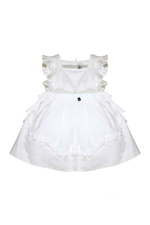WHITE DRESS WITH RUCHES SIMONETTA Simonetta | 11 | 1K1172KA010100