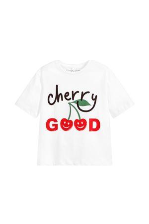 WHITE T-SHIRT STELLA MCCARTNEY KIDS FOR BOY  STELLA MCCARTNEY KIDS | 8 | 539291SMJTA9082