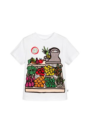 WHITE T-SHIRT STELLA MCCARTNEY KIDS FOR BOY STELLA MCCARTNEY KIDS | 8 | 539755SMJ189082