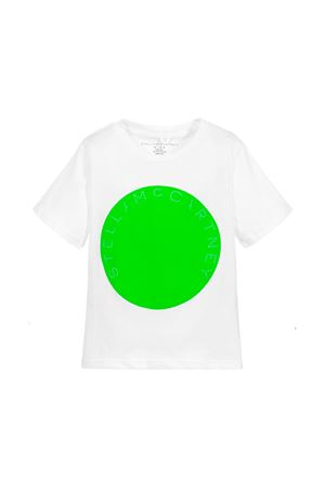 WHITE T-SHIRT STELLA MCCARTNEY KIDS FOR BOY  STELLA MCCARTNEY KIDS | 8 | 539756SMJH39082