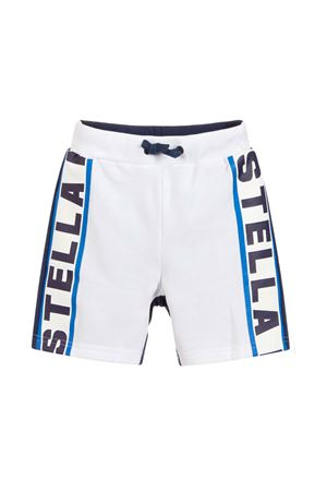 WHITE AND BLUE SHORTS STELLA MCCARTNEY KIDS STELLA MCCARTNEY KIDS | 30 | 539954SMJT89082