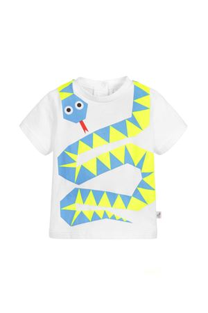 STELLA MCCARTNEY KIDS NEWBORN WHITE T-SHIRT STELLA MCCARTNEY KIDS | 8 | 540055SMJ309082