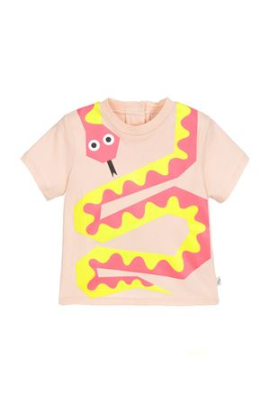 T-SHIRT ROSA PESCO NEONATO STELLA MCCARTNEY KIDS STELLA MCCARTNEY KIDS | 8 | 540056SMJ335769