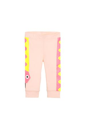 PINK NEWBORN STELLA MCCARTNEY KIDS LEGGINS  STELLA MCCARTNEY KIDS | 9 | 540122SMK055769