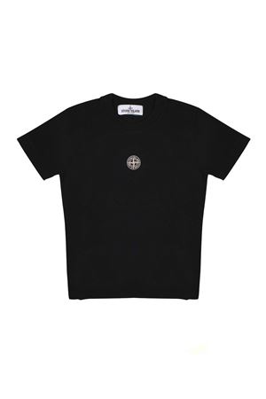 BLACK STONE ISLAND JUNIOR T-SHIRT  STONE ISLAND JUNIOR | 8 | 701621454V0029