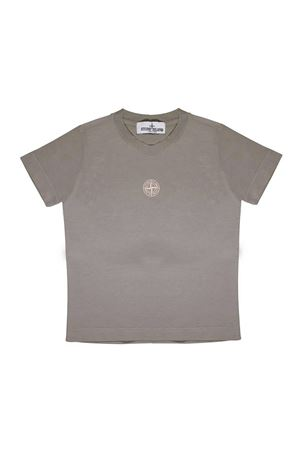 GREEN STONE ISLAND JUNIOR T-SHIRT  STONE ISLAND JUNIOR | 8 | 701621454V0092