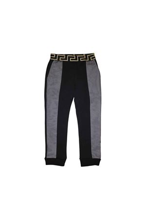 YOUNG VERSACE GIRLS BLACK PANT  YOUNG VERSACE | 9 | YVFPA185YFE130Y4924T