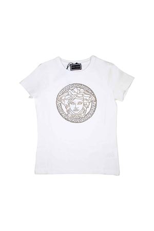 WHITE YOUNG VERSACE T-SHIRT  YOUNG VERSACE | 8 | YVFTS281Y0002Y4915