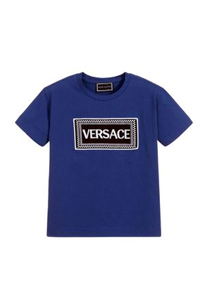 BLUE YOUNG VERSACE T-SHIRT FOR BOY YOUNG VERSACE | 8 | YVMTS255YJE131Y4671